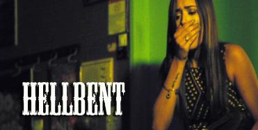 Frame from the movie Hellbent